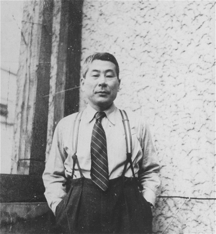 Chiune Sempo Sugihara. A Japanese diplomat who saved approx. 3,500 Jews. Recognised as Righteous Among Nations in 1984.