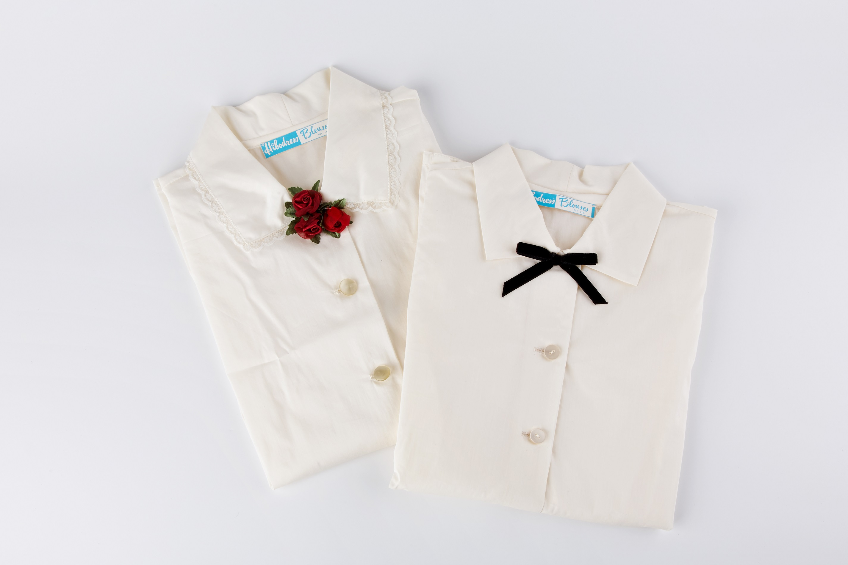 Blouses from the Hibodress Factory. Museum Collection