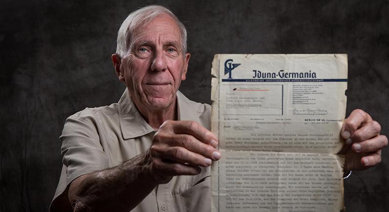 Survivor Portrait Holocaust Survivor Peter Nash Nachemstein