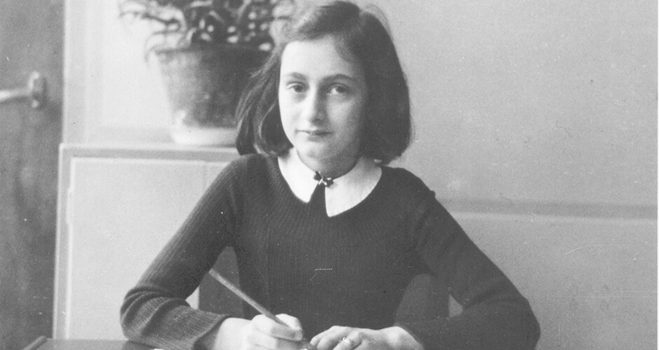 Anne Frank: A Girl Writes History