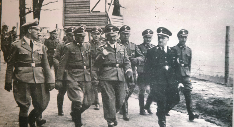 Photograph from Mauthausen concentration camp, Austria. SJM Collection.