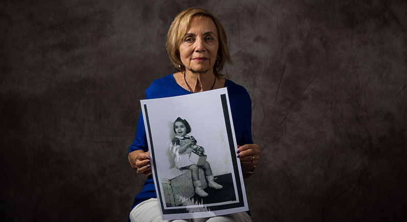 Kitty Lowinger, child survivor of the Holocaust