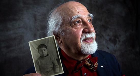 Holocaust Child Survivor George Sternfeld