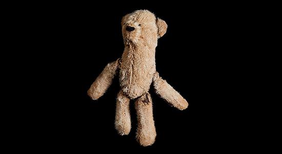 Teddy Bear, photograph by Richard Wiesel