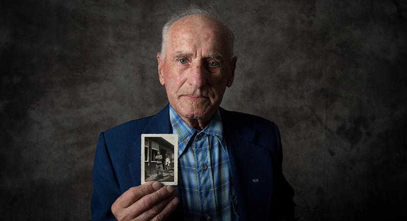 Holocaust survivor Jack Meister