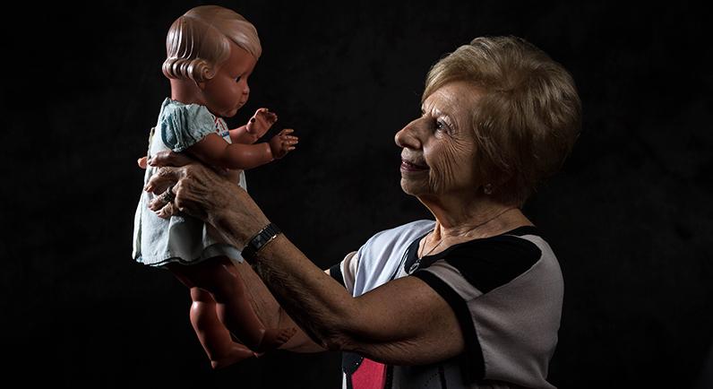 Holocaust child survivor Margot Tischmann