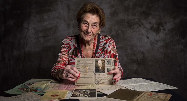 Holocaust survivor Gerty Jellinek