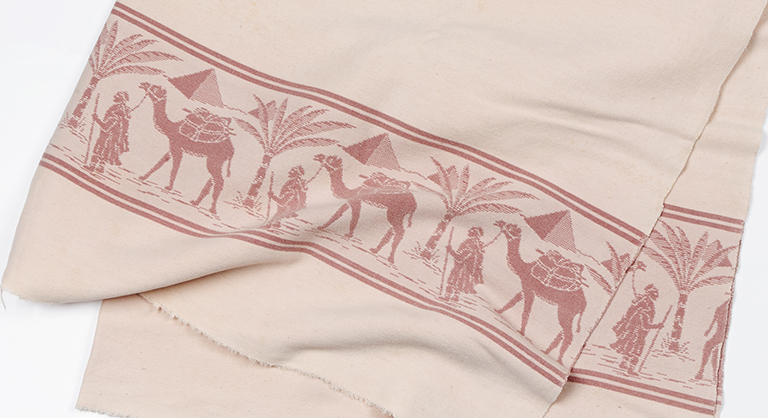 Blanket with Egyptian biblical design