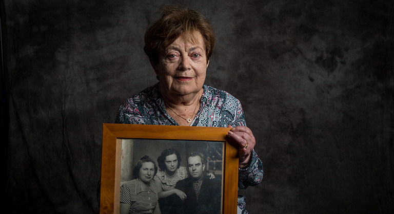 Photograph of Holocaust survivor Vera Kertesz