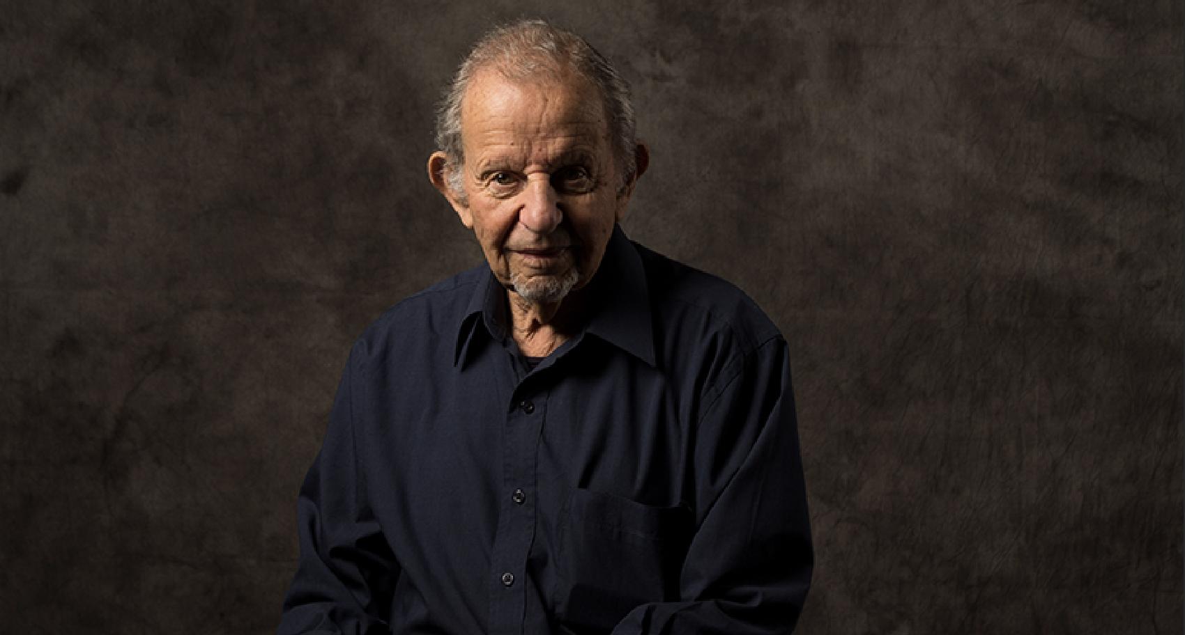 Photograph of Holocaust survivor John Gruschka