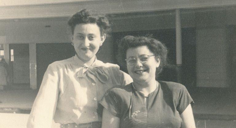 Inge-Ruth Herrmman and Gisela Jankelowitz, SJM Collection