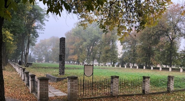 Memorial sites in Kamianets-Podilskyi